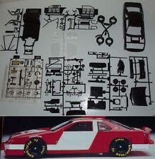 DONOR  NASCAR 1989-1992 FORD THUNDERBIRD STOCK CAR KIT w/9 hole Wheel BLACK