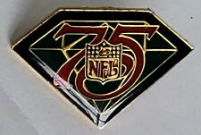 NFL 75th Anniversary Football Shield - Lapel Pin Tac 1994 Grand Slam NEW Vintage