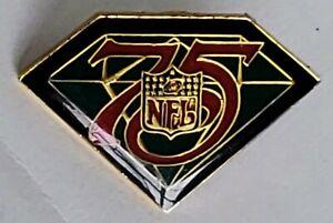 NFL 75th Anniversary Football Shield - Lapel Pin Tac 1994 Grand Slam NEW Vintage
