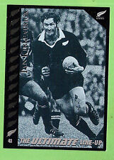 1995 NEW ZEALAND  ALL BLACKS RUGBY UNION CARD  #43  IAN  KIRKPATRICK