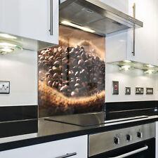 Splashback Paraschizzi Paraspruzzi Rivestimento Cucina caffe chicchi marrone