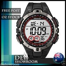 Timex MARATHON Men's Sport Digital Black Resin Watch  T5K423 - Free Post in AU