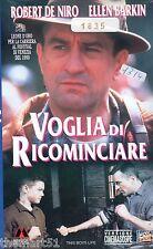Voglia di ricominciare (1993) VHS Fox   Versione Cinemascope   Ellen Barkin