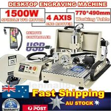 USB 4axis 1.5KW CNC 6040Z Router Engraver Carving Mill Wood Machine+ Controller