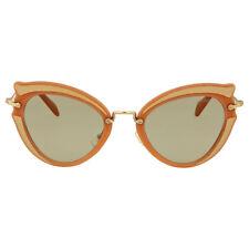 Miu Miu Ocher Cat Eye Sunglasses