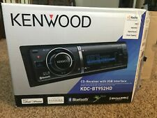 Kenwood KDC-BT952HD Single-DIN In-Dash CD Receiver with Bluetooth (no remote)