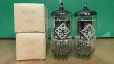 Pair of Telefunken 6211 (ECC801S 12AT7) NOS NIB 1961 Vacuum Tubes - 8% matched