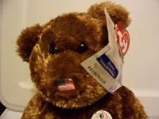 Ty Beanie Babies FIFA 2002 World Cup Champion Bear Retired Plush Toy Stuffed
