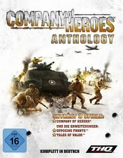 Company of Heroes Anthology + opposing Fronts + valle of valor alemán como nuevo