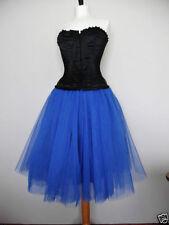 Calf Length Tulle Skirts Tutu for Women