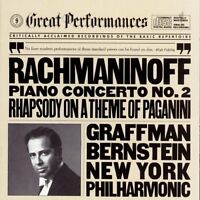 Leonard Bernstein, S - Piano Concerto 2 / Rhapsody on Theme of Paganini [New CD]