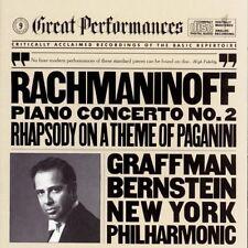 Leonard Bernstein, S - Piano Concerto 2 / Rhapsody on Theme of Paganini [New CD]