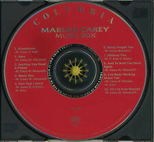 MARIAH CAREY Music Box (1993 U.S. 10 Track CD)