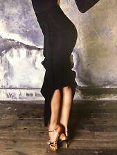 Vesa Draped Pencil Latin Dance Skirt