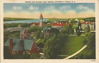 Ithaca, NEW YORK - Cornell University - Campus & Cayuga Lake