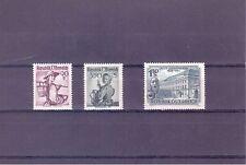 Austria Scott #s 536, 552 & 589 Stamps MH
