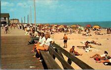 1950'S. REHOBOTH BEACH, DELAWARE. BOARDWALK. POSTCARD. SZ4