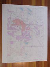 Fort Collins Colorado 1984 Original Vintage USGS Topo Map