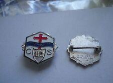 Vintage 1940's Silver Methodist Church School perfect attendance pin