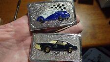 CHEVY  GTO FORD CAR RACING BELT BUCKLE NASCAR  BX 1#11