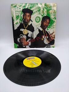 Eric B. & Rakim Paid In Full Vinyl LP Record VTG Hip Hop Rap