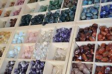 50 tumbled stones LARGE (20 - 30mm) polished crystal tumblestones gemstone