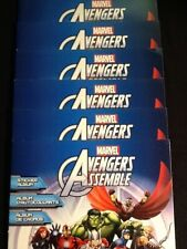 2013 Panini MARVEL Avengers Assemble Sticker Album/Lot of 6 NEW!!!