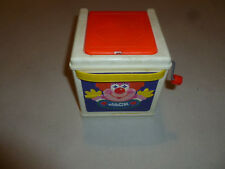 VINTAGE MATTEL CLOWN JACK IN THE MUSIC BOX 1987 CLASSIC TOY POP GOES THE WEASEL