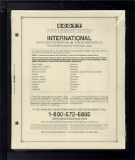 2002 Scott International Postage Stamp Album Supplement Pages A-K 38A #838P102