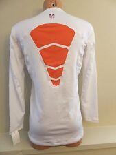 Mens XXL NIKE Dri-Fit HyperWarm Crew CHICAGO BEARS Fitted Athletic Shirt 519367