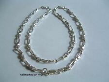 New 925 Sterling Silver heavy Chain 20ins necklace.