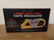 New Berkshire Laser Level with Tape Measurer new in box
