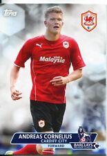 Premier Gold Soccer 13/14 Base Card #115 Andreas Cornelius