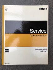 Philips-Service Dokumentation. Fernsehgeräte 1962/63