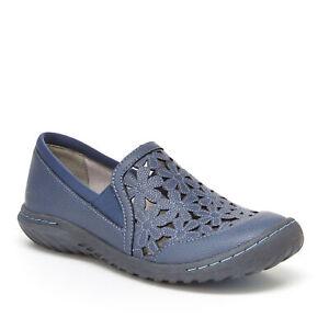 JBU by Jambu Women's Wildflower Moc Slip-On Shoe Blue