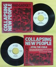 LP 45 7''FAD GADGET Collapsing new people Spoil the child 1984 MUTE no cd mc dvd