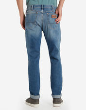 Wrangler Stonewashed Classic Fit, Straight Jeans for Men