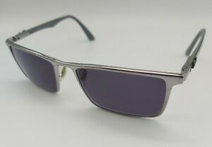 RAY- BAN RB8409 eyeglasses glasses frame SILVER SQUARE with carbon arms