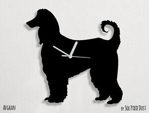 Afghan Silhouette - Wall Clock