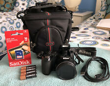 Nikon COOLPIX L120 14.1MP Digital Camera~~Black~~Nr MINT~~16GB SD~~Bundle~~