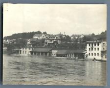 Suisse, Lucerne Vintage silver print.  Tirage argentique d'époque  8x10