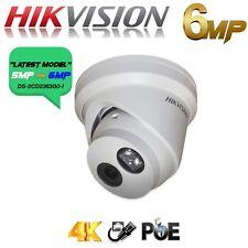 Red Ip Cctv Hikvision 6 MP Torreta Fix 2.8mm Cámara HD 5MP Poe HDS 4K al aire libre