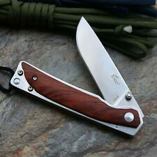 Auténtica...... cuchillo Enlan l03-2/8cr13mov/madera