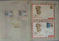 s993) Ballonpost Österreich 19 Belege 3. Ballonpost Bregenz 23.X.1949