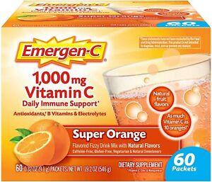 Emergen-C 1000mg Vitamin C Powder, with Antioxidants, B Vitamins and...