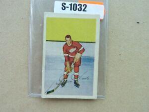VINTAGE HOCKEY CARD PARKHURST 1952-53 DETROIT RED WING GORDIE HOWE S1032
