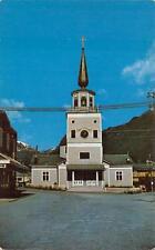 ST. MICHAEL'S CATHEDRAL CHURCH SITKA ALASKA POSTCARD (c. 1950s)