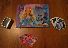 BARBIE PRINCESS FROM THE LOST ISLAND - PANINI - ALBUM AND FULL SET OF STICKERS