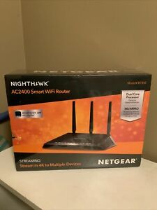 NETGEAR Nighthawk AC2400 Smart Wi-Fi Router R7350-100NAS NIB Sealed F/S