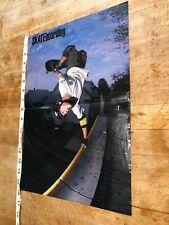 Transworld Skateboarding Magazine Centerfold Vision Tom Groholski Poster